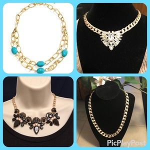 Jewelry - 4 NWT Necklaces One Low Price Great For BFF Gifts